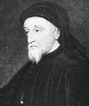 Chaucer was born in London  Geoffrey Chaucer