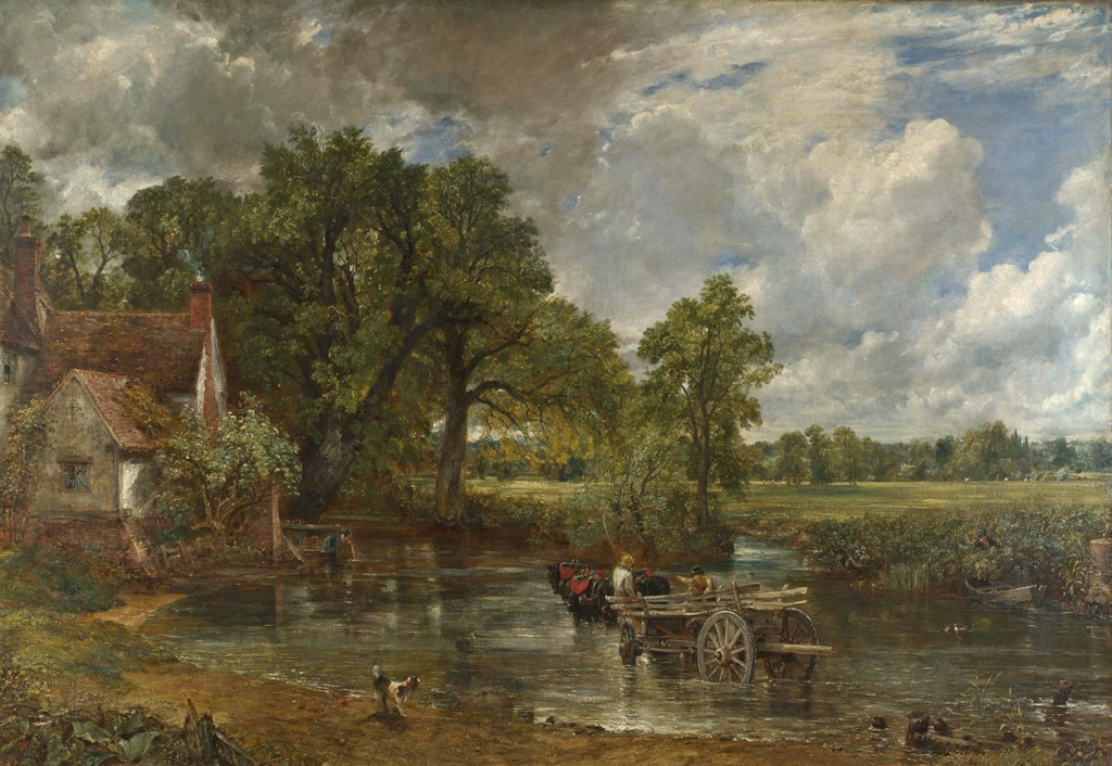 the haywain - constable