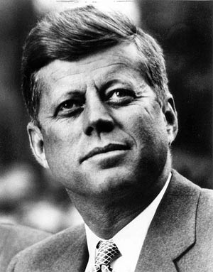 A brief biography of john kennedy