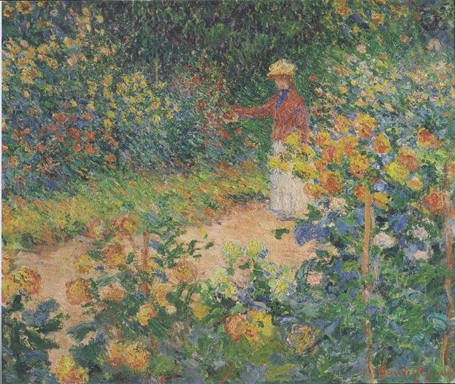 Monet_-_Im_Garten_-_1895