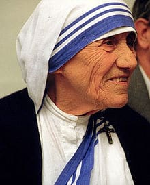 A biography of the life and charity work of mother teresa