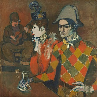 Pablo_Picasso,_1905,_Au_Lapin_Agile_(At_the_Lapin_Agile),_oil_on_canvas,_99.1_x_100.3_cm,_Metropolitan_Museum_of_Art
