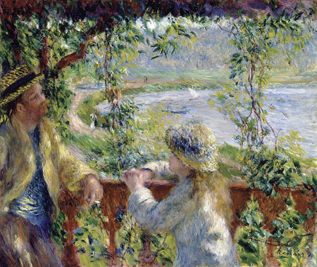 Auguste renoir biographybiography online for In their paintings the impressionists often focused on