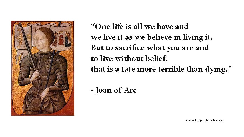 How Can Saint Joan Play a Role in Our Lives Today?