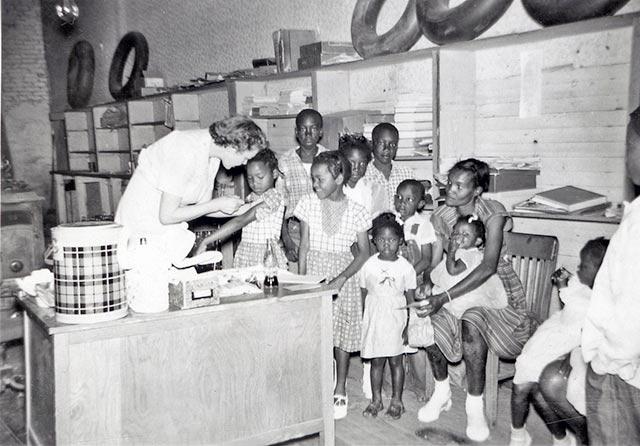 polio vaccine clinic
