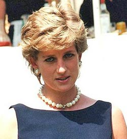 Diana, Princess of Wales (1 July 1961 – 31 August 1997) was an iconic figure of the late 20th Century. She epitomised feminine beauty and glamour.
