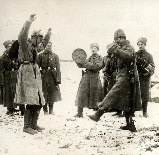 Impact of wwi on russia