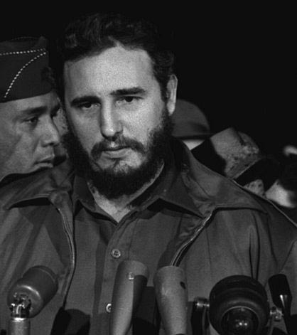 Fidel Castro in Washington, US 1958