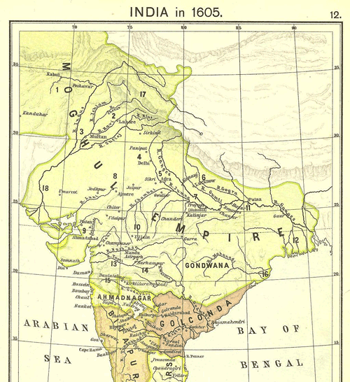 Moghul Empire under Akbar