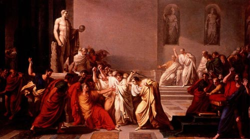 Death-of-Caesar-by-Vincenzo-Camuccini