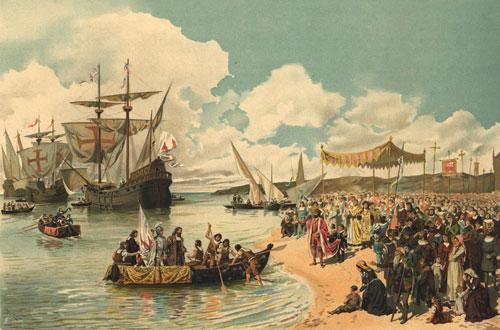 A_partida_de_Vasco_da_Gama_para_a_Índia_em_1497