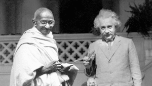 einstein-and-gandhi-e1357105119213