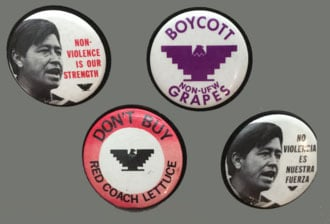 National_Farm_Workers_Association_protest_buttons