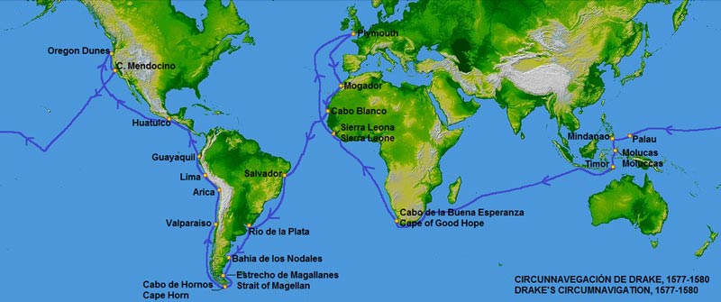 Drake's circumnavigation