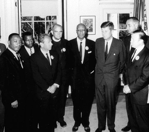 Photograph_of_Meeting_with_Leaders_of_the_March_on_Washington_August_28,_1963_-_NARA_-_194276