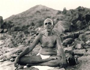 Ramana-Maharshi-sit-2