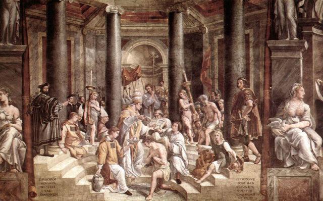 Raphael_Baptism_Constantine