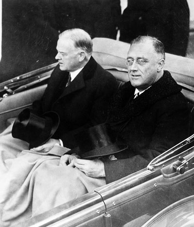 hoover-FDR_Inauguration_1933